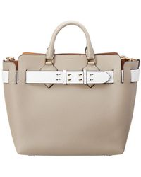 Burberry - Medium Belt Bag Leather Tote - Lyst