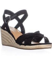 Lucky Brand - Margaline Espadrille Wedge Sandals, Milk - Lyst