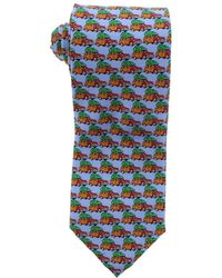 Tommy Bahama - Mens Woody Christmas Silk Printed Neck Tie - Lyst