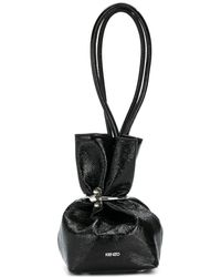 KENZO - Slouchy Ring Cuff Tote - Lyst