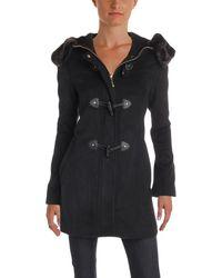 Ellen Tracy - Womens Winter Wool Duffle Coat - Lyst