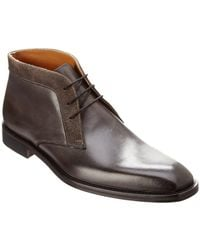 Kenneth Cole - New York Noble Act Leather Chukka Boot - Lyst