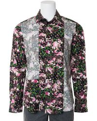 Givenchy - Mens Pure Cotton Floral Printed Button Down - Lyst