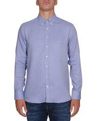 Etro - Men's 163653511200 Light Blue Cotton Shirt - Lyst