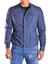 CoSTUME NATIONAL | Men's Mcbi074021o Blue Polyamide Outerwear Jacket | Lyst