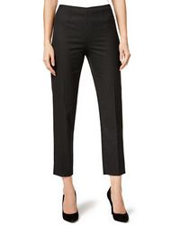Tommy Hilfiger - Dotted Casual Trousers Black 2x28 - Lyst