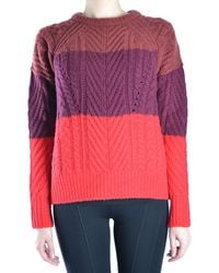 Marc By Marc Jacobs - Women's Multicolour Wool Jumper - Lyst
