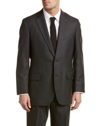 Brooks Brothers | Madison Classic Fit Wool Suit With Pleated Pant | Lyst