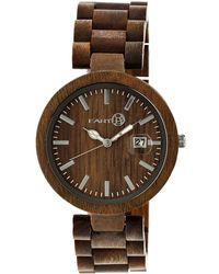 Earth Wood - Stomates Bracelet Watch - Lyst