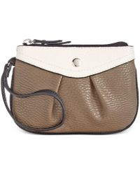 Style & Co. - . Womens Hannah Faux Leather Colorblock Coin Purse - Lyst