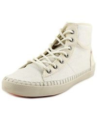 Roxy - Womens Billie Espadrille Hight Top Lace Up Fashion Trainers - Lyst