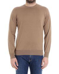 Brunello Cucinelli - Men's Brown Cotton Sweater - Lyst