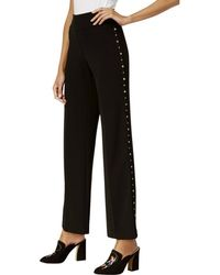 db6b90ebad0 INC International Concepts - Inc Womens Studded Flat Front Wide Leg Pants -  Lyst