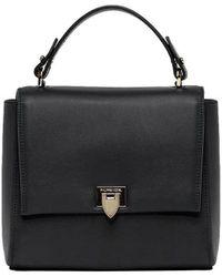 Philippe Model - Women's Black Leather Handbag - Lyst