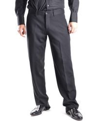 Dirk Bikkembergs - Men's Black Wool Pants - Lyst