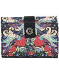 Desigual - Women's Multicolour Polyurethane Wallet - Lyst