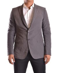 CoSTUME NATIONAL | Men's Mcbi074059o Grey Cotton Blazer | Lyst
