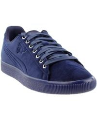 0860c075d296 PUMA - Men s Clyde Velour Ice Ankle-high Velvet Fashion Sneaker - Lyst
