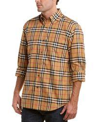 Burberry - Jameson Check Woven Shirt - Lyst