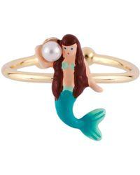 Les Nereides - I Am A Mermaid Adjustable Ring - Lyst