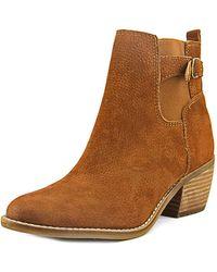 Lucky Brand - Khoraa Women Us 5.5 Brown Bootie - Lyst