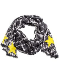 Givenchy - Women's Prismed Pattern Silk Scarf Large - Lyst