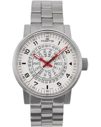 Fortis - ;spacematic Classic White-red - Lyst