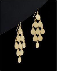Argento Vivo - 18k Over Silver Drop Earrings - Lyst