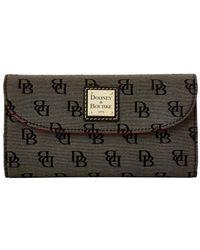 Dooney & Bourke - Madison Signature Continental Clutch Wallet - Lyst