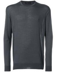 9cb02a57f79b Lyst - Miu Miu V-neck Pullover in Natural for Men