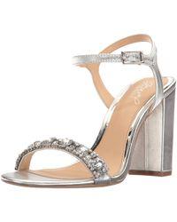 05b6a339b92 Badgley Mischka - Womens Hendricks Open Toe Formal Slingback Sandals - Lyst