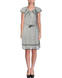 Timo Weiland - Womens Eyelet Cap Sleeves Wear To Work Dress - Lyst