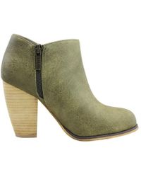Michael Antonio - Womens Vamp Closed Toe Ankle Fashion Boots - Lyst