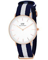 Daniel Wellington - Glasgow Women's Dw00100031 - Lyst