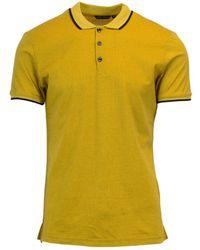 Antony Morato - Men's Yellow Cotton Polo Shirt - Lyst