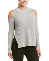 French Connection - Cold-shoulder Mozart Sweater - Lyst