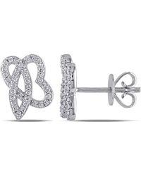 Julianna B - 1/5 Ct Diamond Tw Ear Pin Earrings - Lyst