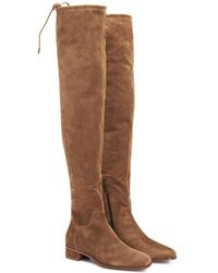 Aquatalia - Lisandra Waterproof Suede Over-the-knee Boot - Lyst