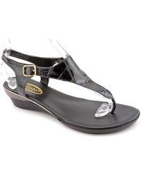 Callisto - Women Miranda Wedge Sandals - Lyst