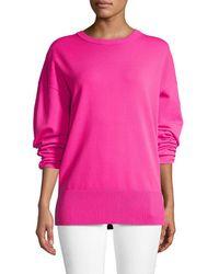 Balenciaga - Elongated Sleeve Sweater - Lyst