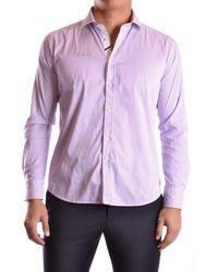 Etiqueta Negra - Men's Purple Cotton Shirt - Lyst