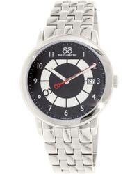 88 Rue Du Rhone - Men's 87wa140030 Silver Stainless-steel Swiss Quartz Dress Watch - Lyst
