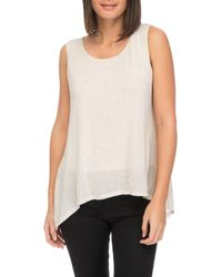 Bobeau - Faith Layered Tank - Lyst