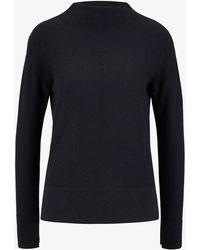 Bogner - Maia Knit Pullover In Navy Blue - Lyst