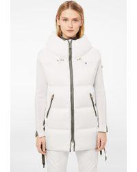 Bogner - Dorea Down Waistcoat In White - Lyst