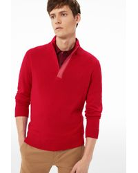 Bogner - Knitted Pullover Ed In Red - Lyst