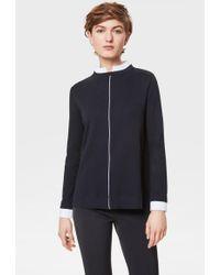 Bogner - Yvette Shirt In Navy Blue - Lyst