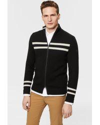 Bogner - Portes Knit Jacket In black - Lyst