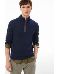 Bogner - Knitted Pullover Ed In Navy Blue - Lyst