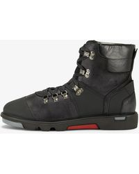 Bogner - Rotterdam Laced Boots In Anthracite - Lyst